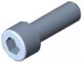 Vite a testa cilindrica DIN 912 M10x30, zincato