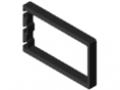 Elektronikgehäuse-Profil 8 200x120, schwarz