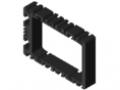 Elektronikgehäuse-Profil 8 120x80, schwarz