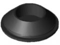Gummieinsatz D40, schwarz
