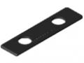 Schlitten-Abdeckkappe 8 160x40 D14, schwarz