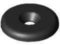 Griff-Endkappe 5 D28, schwarz