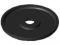 Griff-Endkappe 6 D42, schwarz