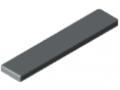 Abdeckkappe X 8 80x16, grau ähnlich RAL 7042