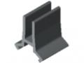 Einfassprofil D30 3-5mm, grau