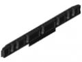 Lagerschiene 100 D4-20/33 ESD, schwarz ähnlich RAL 9005