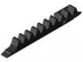 Crémaillère 8 segment 80 K, noir