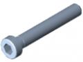 Zylinderschraube DIN 6912 M6x40, verzinkt