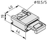 Zahnriemenspanner Spannblock 8 R25