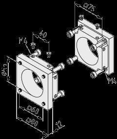 Synchronwellen-Abdecksatz KRF 8 80 ZR