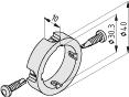 Befestigungsring D40/D30-10
