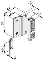 Sicherheits-Sensor 8, 24V DC