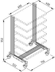 SystemMobil-Rahmen L41M