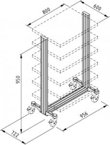 SystemMobil-Rahmen T61M