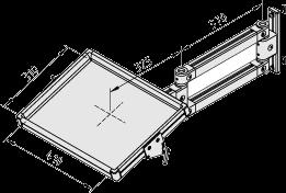 Tablett-Doppelschwenkarm 8 80-695