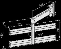 Behälter-Schwenkarm 8 80-370