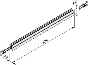 Behälteraufnahme E 1800 F