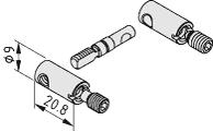 Gehrungs-Stoß-Verbindungssatz 6