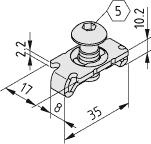 Standard-Verbindungssatz 8, verzinkt