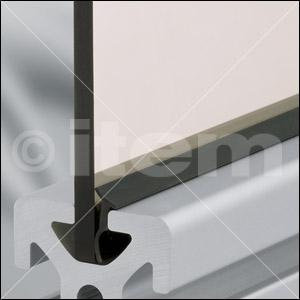 Dichtprofil 8 4-6mm, schwarz