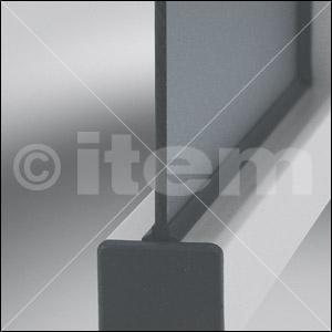Einfassprofil 8 4-6mm, schwarz