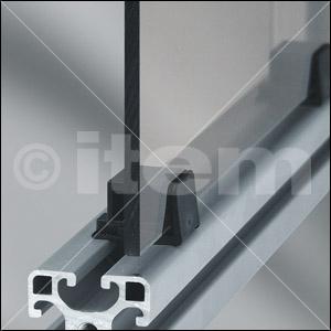 Klemm-Multiblock 5 PA, schwarz