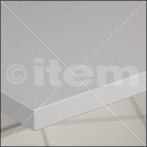 Tischplatte 30-1200x750 HPL-beschichtet, grau ähnlich RAL 7035
