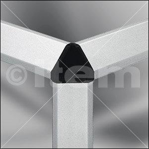 Verbinder-Abdeckkappe 6 30x30-45°, schwarz