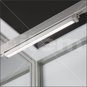 Maschinenleuchte LED 18W 40x40x590