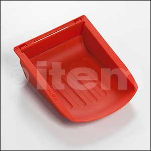 Greifschale 8 105x130, rot ähnlich RAL 3020