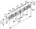 Lagerschiene 100 D4-20/33, grau ähnlich RAL 7042
