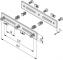 Stufenprofil-Laschensatz 8 160