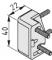Rahmenprofil-Eckverbindungssatz 8 40x20